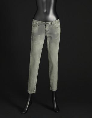 Denim black sovratinto verde - Pantaloni jeans - Dolce&Gabbana - Estate 2016