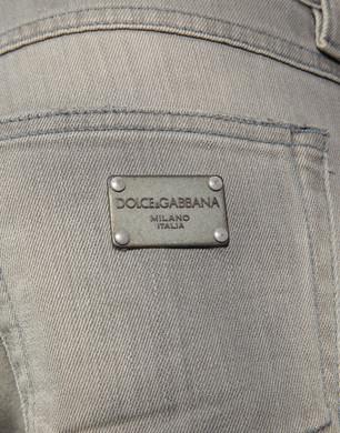 Denim blu effetto Vintage - Pantaloni jeans - Dolce&Gabbana - Estate 2016