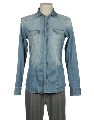 MESSAGERIE - Denim shirt