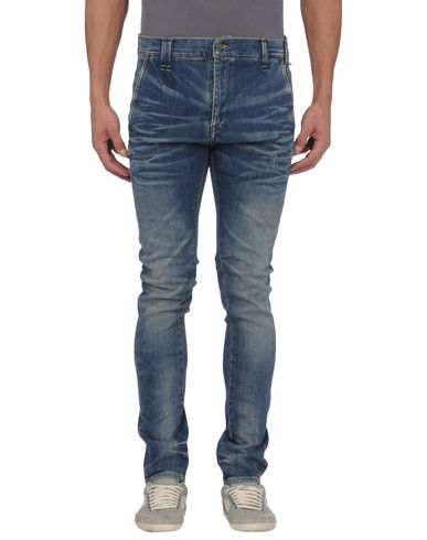 DANIELE ALESSANDRINI DENIM - Denim pants
