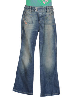 DIESEL - ДЖИНСОВАЯ ОДЕЖДА - Джинсовые брюки