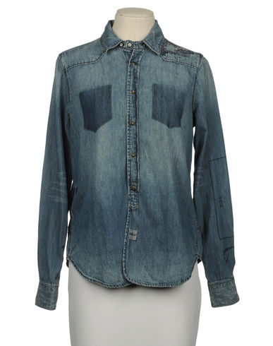 MAISON SCOTCH - Denim shirt