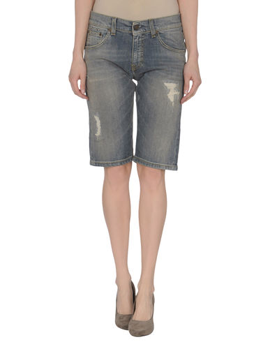 MANILA GRACE - Denim bermudas