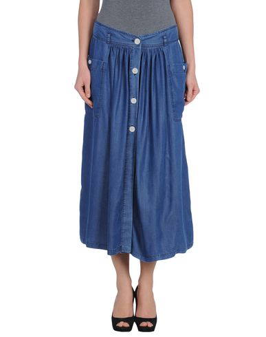 L'HERBE ROUGE - Denim skirt