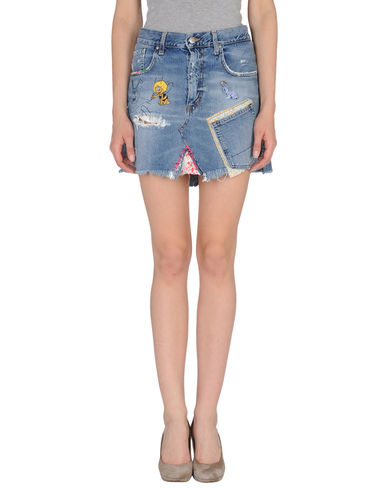 (+) PEOPLE - Denim skirt