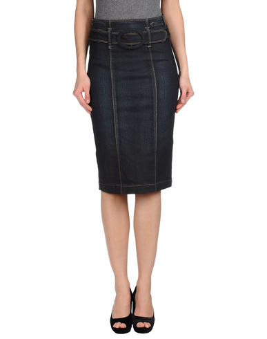 JACOB COHЁN - Denim skirt