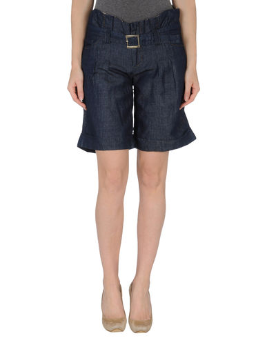 AMY GEE - Denim bermudas