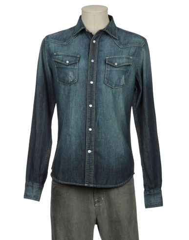 RIFLE - Denim shirt