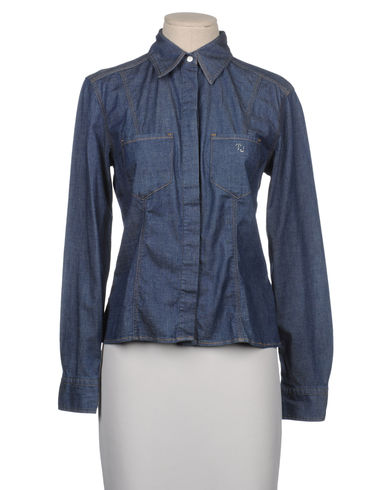 TJ TRUSSARDI JEANS - Denim shirt