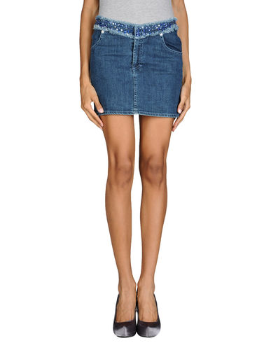VERSACE - Denim skirt