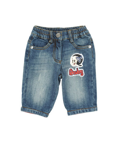 MONNALISA BEBE' - Denim pants