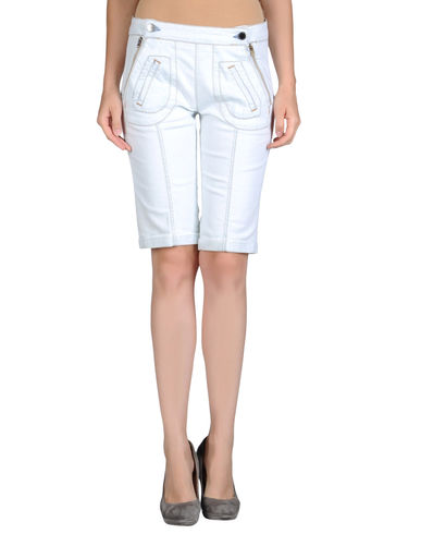 STELLA McCARTNEY - Denim bermudas