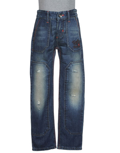FRANKIE GARAGE - Denim pants