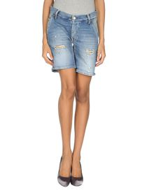 TWO WOMEN IN THE WORLD - Denim shorts