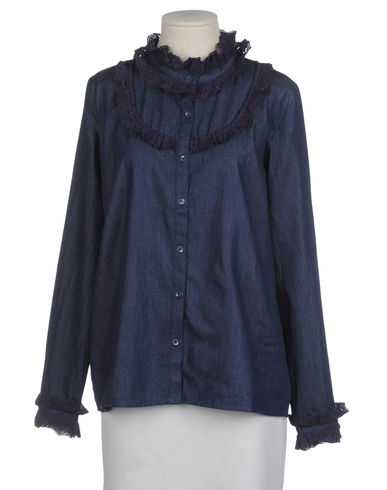 LE MONT ST MICHEL - Denim shirt