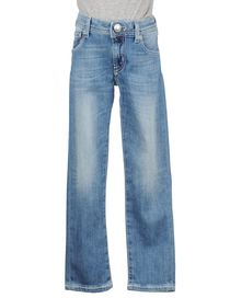 JACOB COHЁN JUNIOR - Denim pants