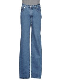 COTTON BELT - Denim trousers