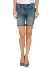 FOR ALL MANKIND - Bermuda en jean