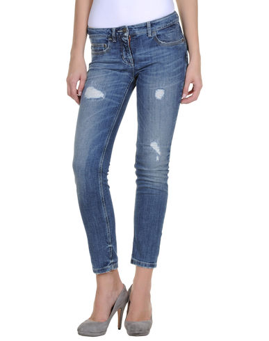 SCERVINO STREET - Denim capris