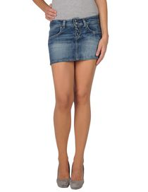 LIU •JO BOTTOM - UP COLLECTION - Denim skirt