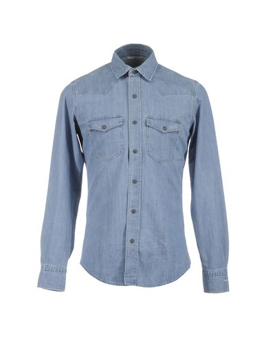 ITALIA INDEPENDENT - Denim shirt