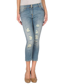 PINKO GREY - Denim capris
