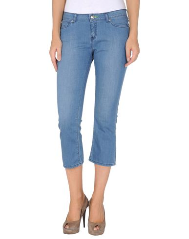 LOVE MOSCHINO - Denim capris