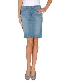 CURRENT/ELLIOTT - Denim skirt