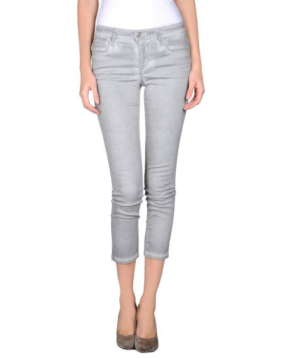 Джинсовые брюки-капри JOE'S JEANS. Цвет: светло-серый