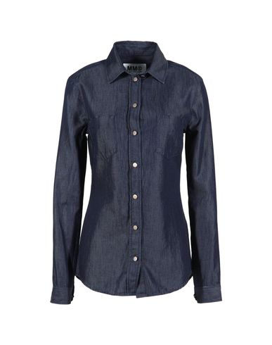 MM6 by MAISON MARTIN MARGIELA - Denim shirt