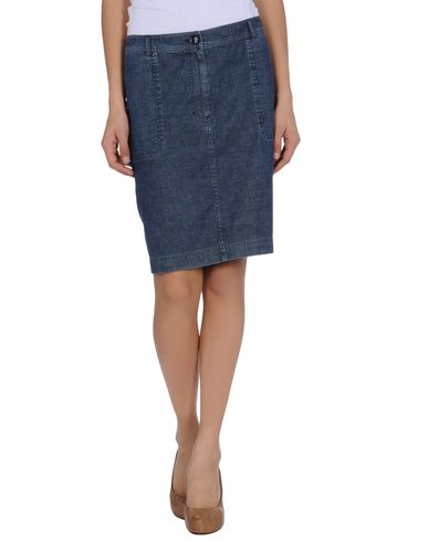 BURBERRY - Denim skirt