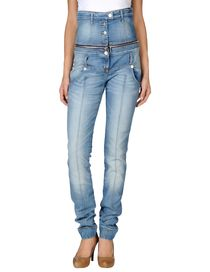 GLAM ANGELO MARANI - Denim trousers