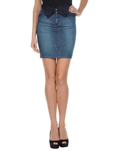 LANVIN - Denim skirt