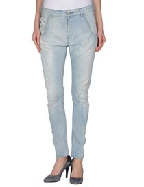 MANILA GRACE - Denim trousers