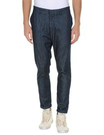 MASTER COAT - Denim trousers
