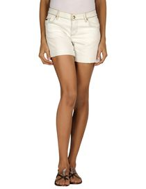 BLUMARINE - Denim shorts