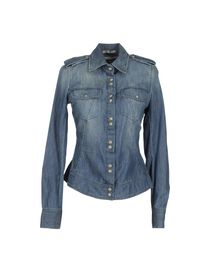 PINKO GREY - Denim shirt