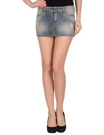 MANILA GRACE - Denim skirt