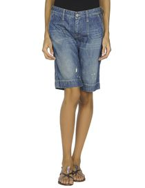 JACOB COHЁN PREMIUM - Denim bermudas