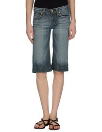 7 FOR ALL MANKIND - Bermuda en jean