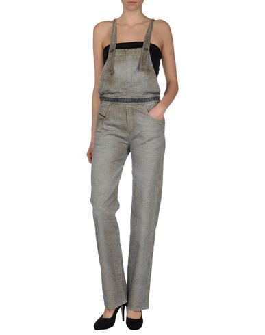 DIESEL BLACK GOLD - Denim dungaree