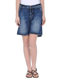 TWO WOMEN IN THE WORLD - Denim bermudas