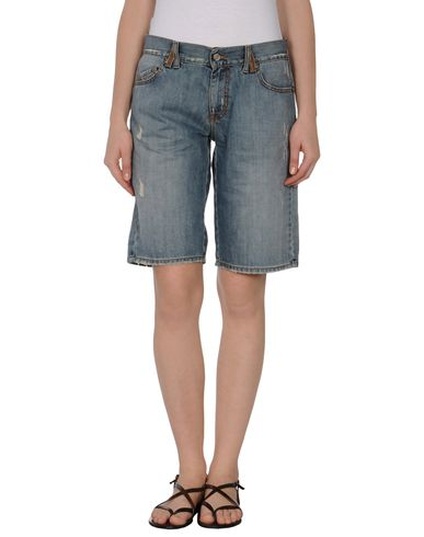 TWIN-SET Simona Barbieri - Denim bermudas
