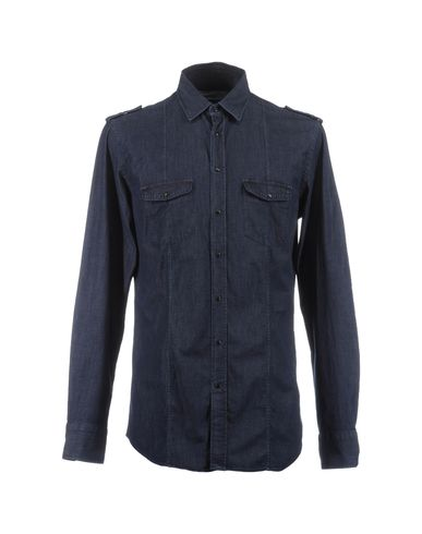 MAURO GRIFONI - Denim shirt