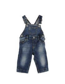 D&G JUNIOR - Denim dungaree