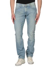 BIKKEMBERGS - Denim trousers