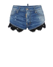 Denim shorts - DSQUARED2