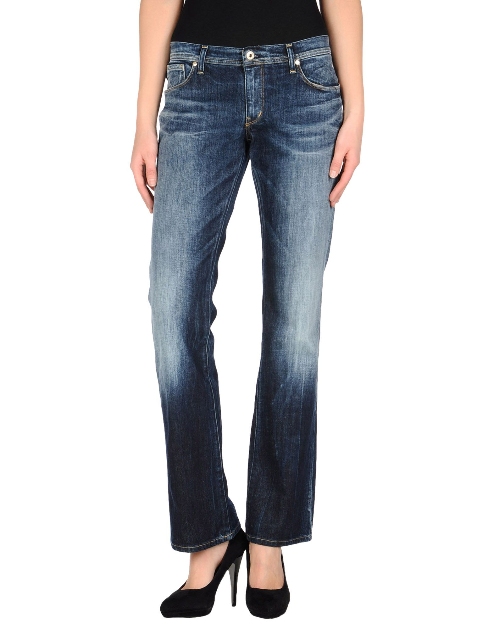 TAKE-TWO Denim pants - Item 42298360