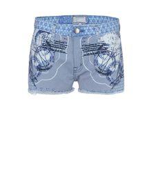 Denim shorts - MARY KATRANTZOU / CURRENT ELLIOTT