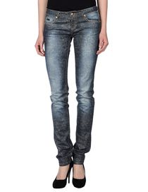 BLUMARINE - Denim trousers